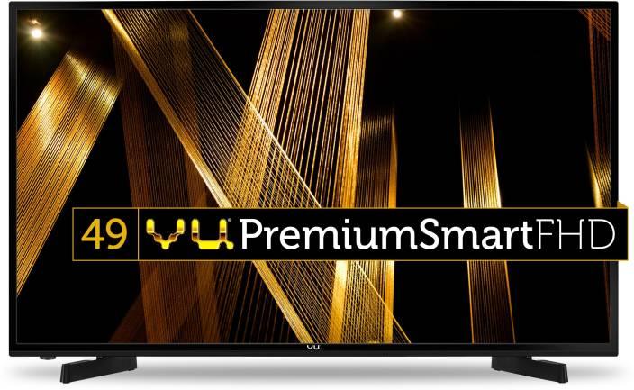 Vu 124cm (49 inch) Full HD LED Smart TV