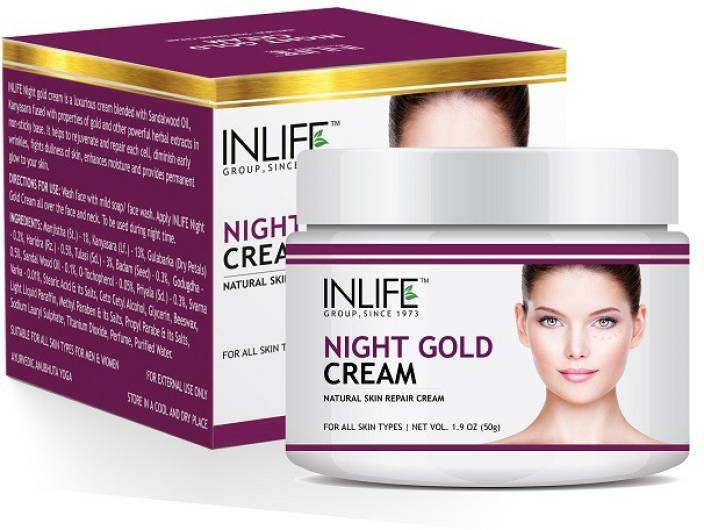a1b375ba15be2 Inlife Night Gold Cream  Buy Inlife Night Gold Cream at Low Price in ...