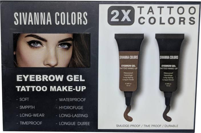 Sivanna Eyebrow Gel Tattoo Make Up 10 Ml Price In India Buy