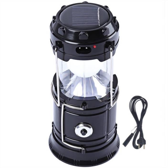 Capstone Black Plastic Lantern