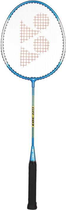 Yonex GR303 Blue Strung Badminton Racquet  (G3, Weight - 90 g)