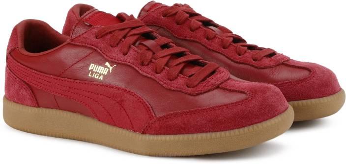ca03e9d11b0218 Puma Liga Leather Sneakers For Men - Buy Tibetan Red-Tibetan Red ...