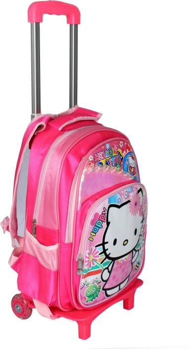 2a1bf34798b8 HSR Pink 3D Design Kids Children s Trolley Bag Small Travel Bag (Pink)