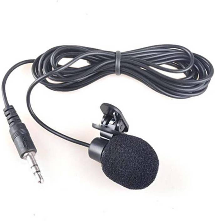 Piqancy 3.5mm Clip Microphone For Youtube by Techlicious | Collar Microphone  | Lapel Microphone Mobile