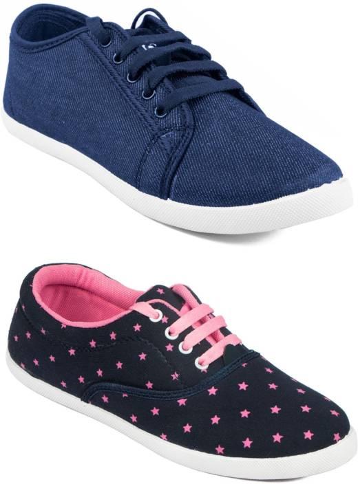 47fae0a86b6a Asian Women s Combo pack of 2 Sneakers For Women - Buy Asian Women s ...
