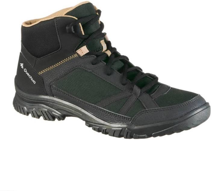 306bdc8e0 Quechua by Decathlon NH100 Hiking   Trekking Shoes For Men (Multicolor)
