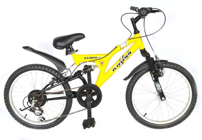 0df53055d85 Kross Storm Dual Suspension 2018 Bike For Kids Age Of 5-8 Yrs 20 T  Recreation Cycle (6 Gear, Multicolor)