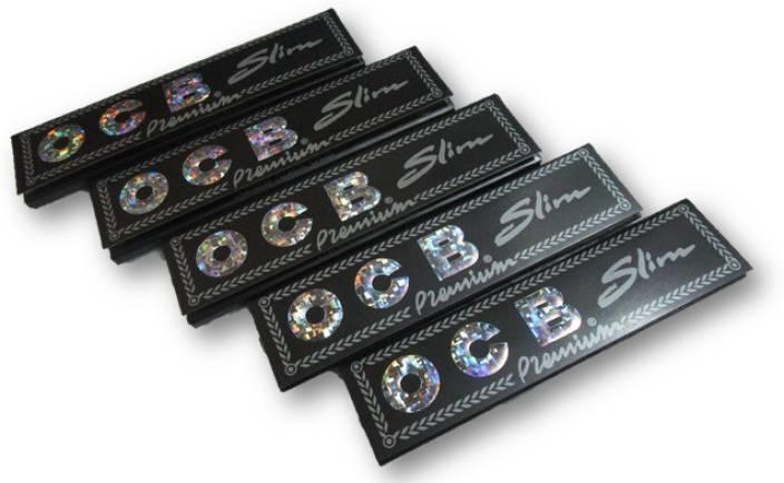 ocb OCB Black Premium Papers Pack of FIVE Booklet from SUDESH ENTERPRISES Assorted Hookah Flavor
