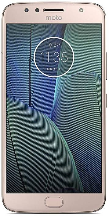 Moto G5s Plus (Blush Gold, 64 GB)