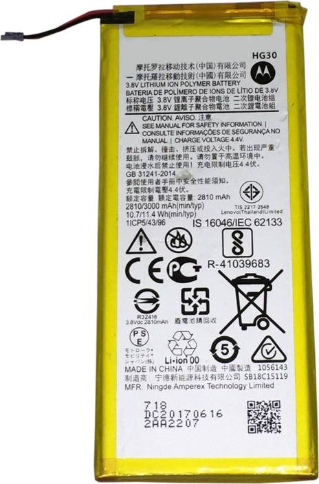 Safa Mobile Battery For Motorola Moto G5s Xt1795 G5s Plus Xt1804