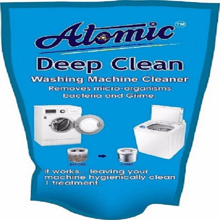 atomic Washing Machine Cleaning Powder for LG, Samsung, IFB, Bosch,  Whirlpool, Haier, Godrej Top/Front Load[ 300 gm]