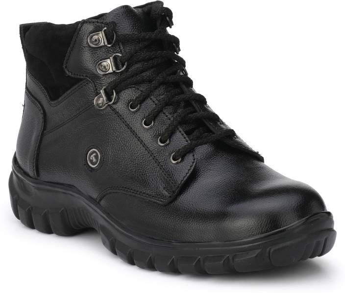 a960473bcca Fashion Tree Timberwood Genuine Leather Safety Shoe With Steel Toe For Men  (TWLT1) Boots For Men