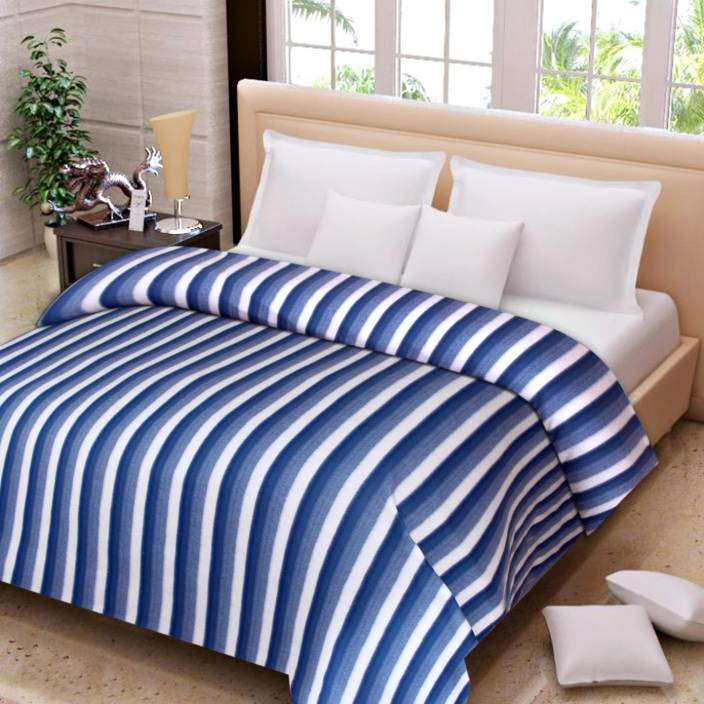 IWS Striped Double Blanket Multicolor