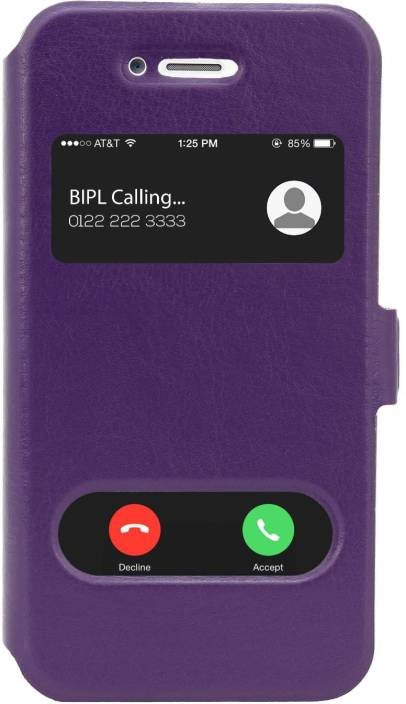 online retailer 1e9b9 cc62f Cubix Flip Cover for Apple iPhone 4s - Cubix : Flipkart.com