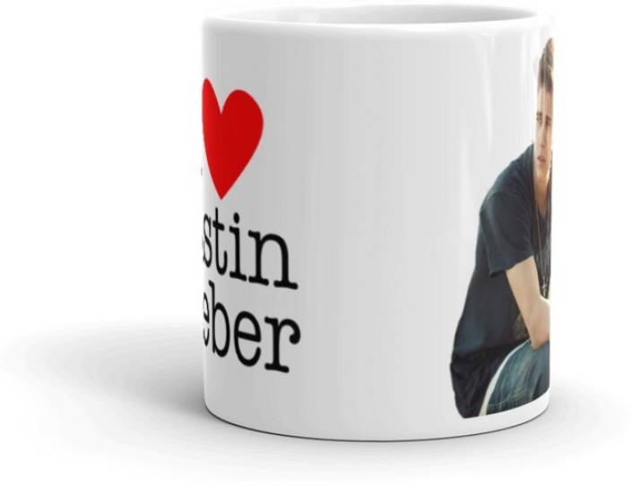 c02a982081 GMX Justin bieber printed coffee mugs, cups : JST003 Ceramic Mug (350 ml)