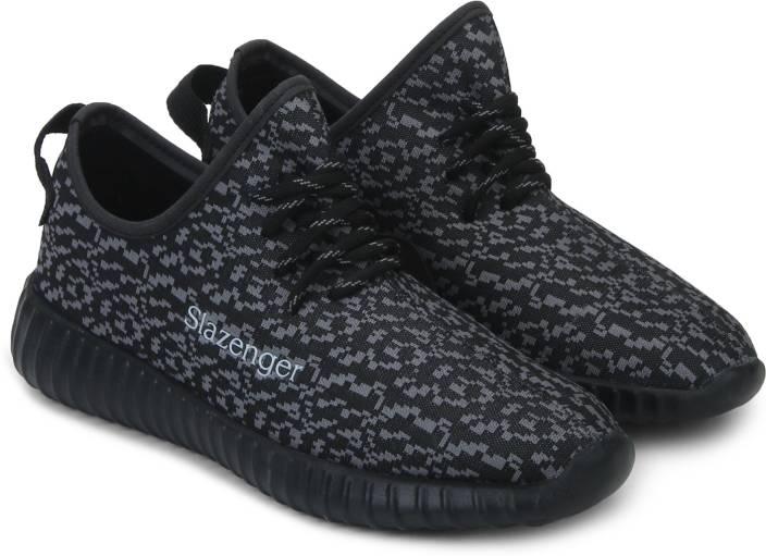 b9ac15b324 Slazenger Velociti Black Running Shoes For Men - Buy Black, Grey ...