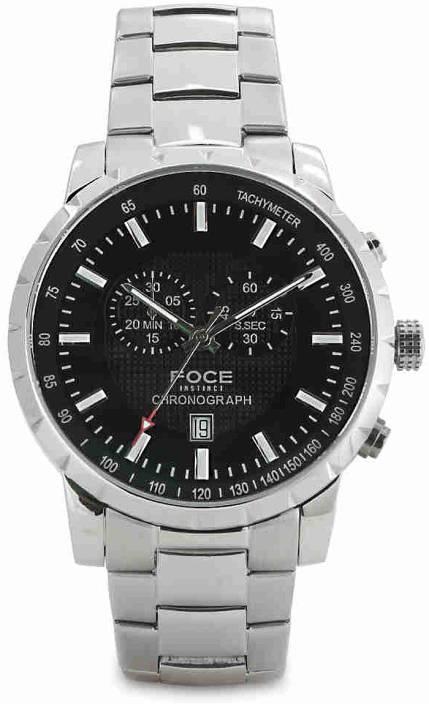 1ea5716344b FOCE FS08SSM RETRO Watch - For Men - Buy FOCE FS08SSM RETRO Watch - For Men  FS08SSM Online at Best Prices in India