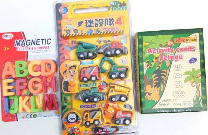 Aparnas Montessori Educational Learning Toys magnetic alphabets abc