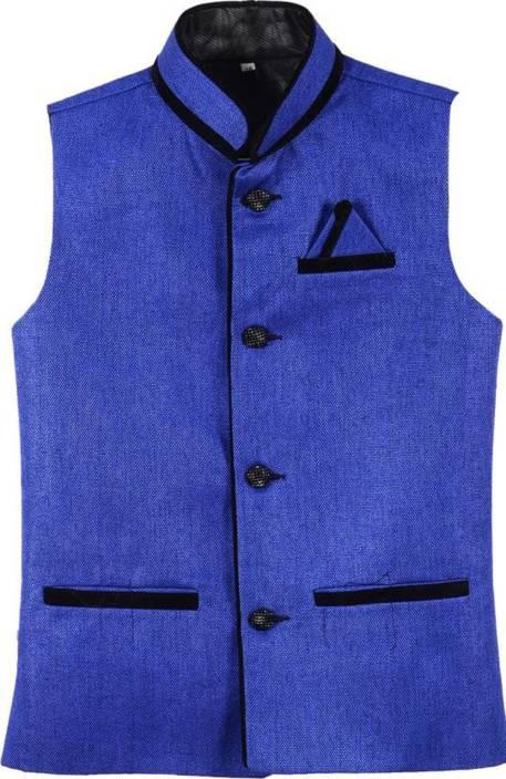 BIS Creations Solid Men's Waistcoat
