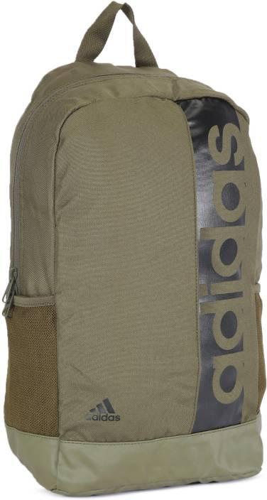 d0190e39afd ADIDAS LIN PER BP 27 L Backpack TRAOLI/TRAOLI/BLACK - Price in India ...