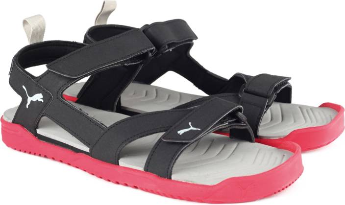 f3aef5383e8b Puma Men Black-Toreador-Silver Sports Sandals - Buy Puma Black-Toreador-Puma  Silver Color Puma Men Black-Toreador-Silver Sports Sandals Online at Best  Price ...