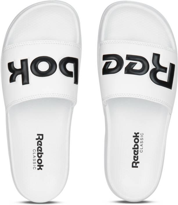 52ee28bbb4b REEBOK CLASSIC SLIDE Slides - Buy SPLT-WHITE BLACK Color REEBOK CLASSIC  SLIDE Slides Online at Best Price - Shop Online for Footwears in India