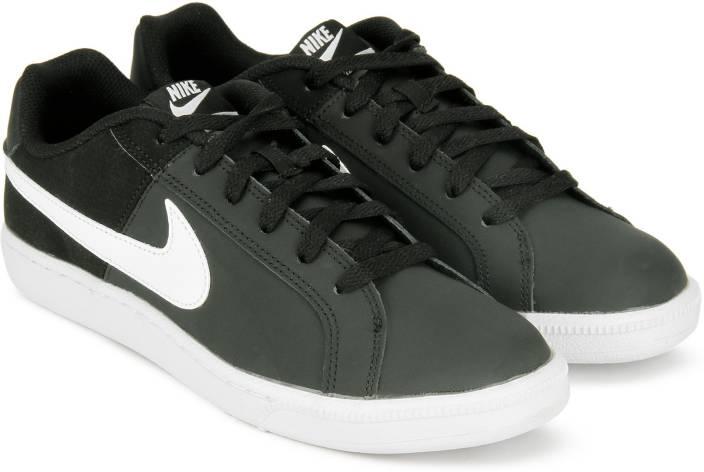 Nike WMNS NIKE COURT ROYALE Sneakers For Women - Buy BLACK WHITE ... 9cb51604b11d