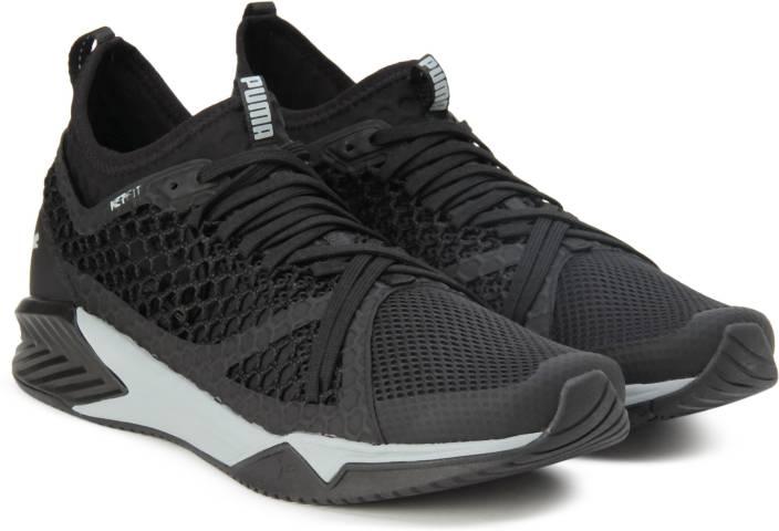 c0586c90c8bac6 Puma IGNITE XT NETFIT Running Shoes For Men - Buy Puma Black-Quarry ...