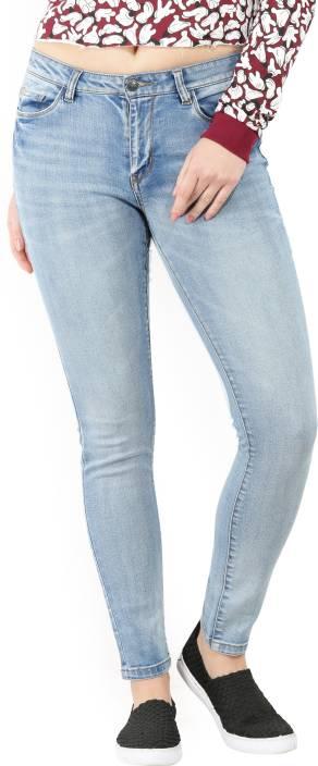 Only Slim Women Light Blue Jeans
