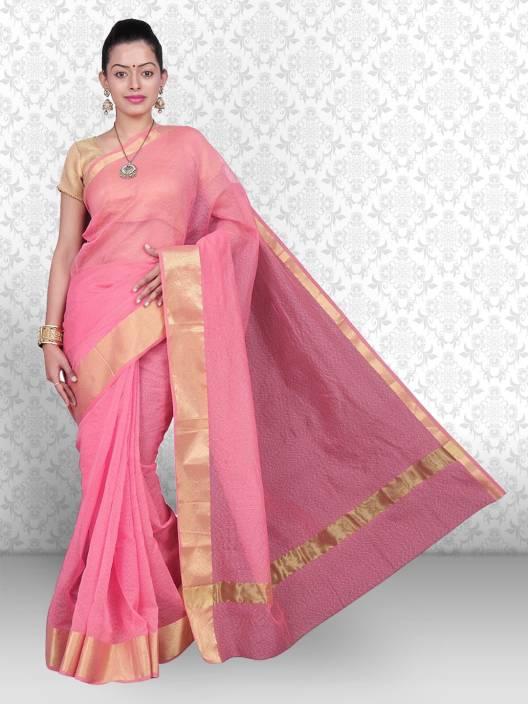 Divastri Self Design Banarasi Polyester Saree