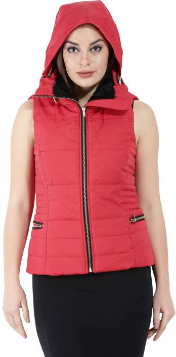 Only Sleeveless Solid Women Jacket