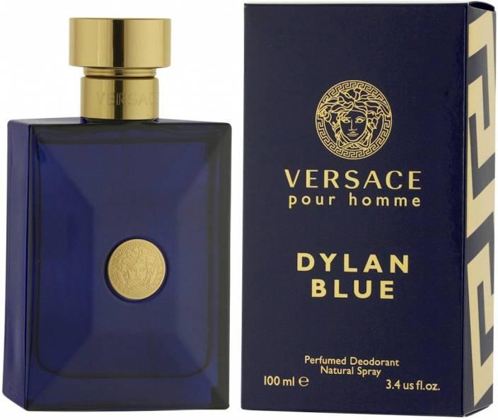 7de3aa0bd8b Versace Dylan Blue Perfume Body Spray - For Men - Price in India ...