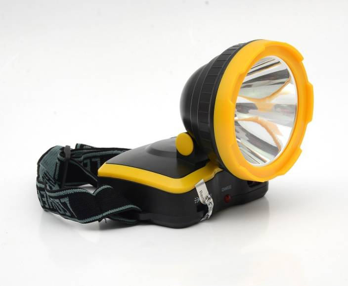 SPACELITE SL-5054A High Power Headlight Emergency Light Outdoor Spotlight Headlamp / Rechargeable Camping Lamp / Adjustable Head Lamp / FlashLight Outdoor Night Torch for Camping Cycling Caving Hiking Hunting With Rechargeable Battery Emergency Light