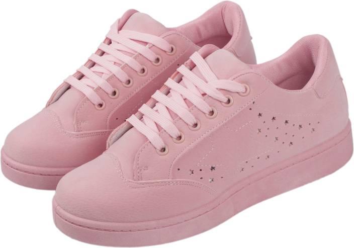 39091601ba Irsoe CASSIEY Pink Outdoor Shoe,Pink Sneaker Shoe, Pink Casual Shoe,Pink  Sports Shoe,Pink SUPERSTAR Shoe FOR GIRLS/WOMENÂ Sneakers For Women