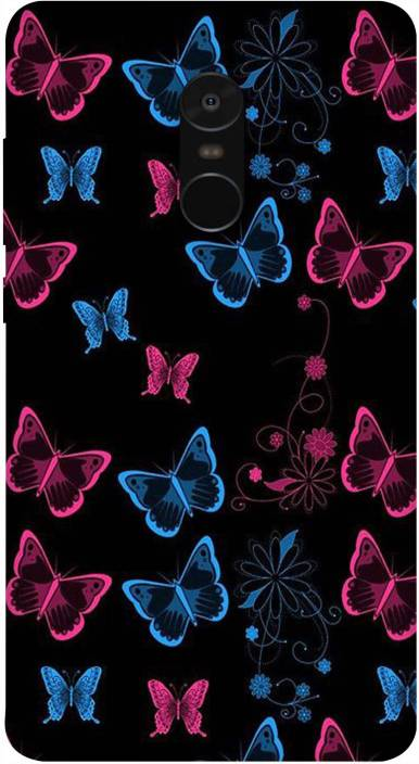 Back Cover for Mi Redmi Note 4 (Multicolor, Flexible Case)