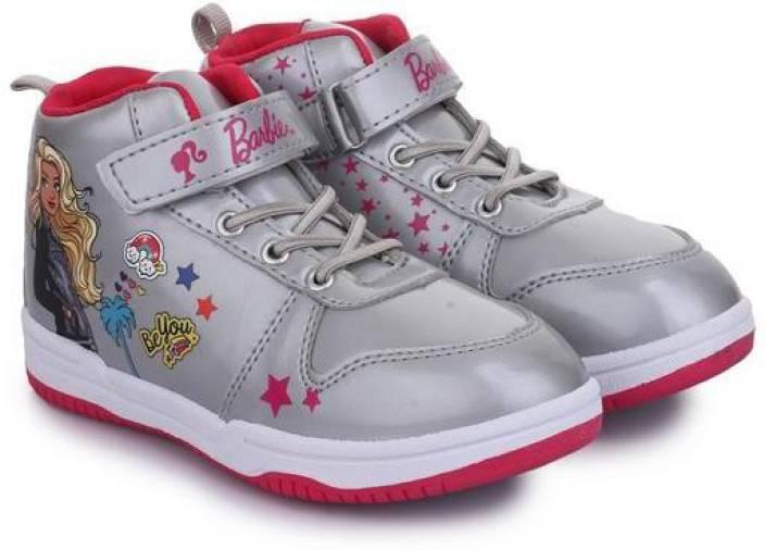 Barbie Girls Velcro Walking Shoes
