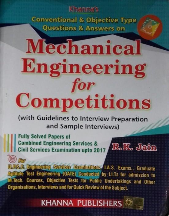 Rk Jain Mechanical Engineering Objective Book