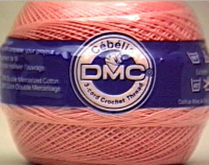 Dmc Cebelia Crochet Cotton Size 30 Beige Rose Cebelia Crochet