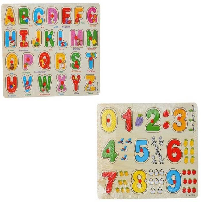 Toys & Hobbies Alphabet Wooden Board Tracing A-z Kids Writing Skills Preschool Educational Toys