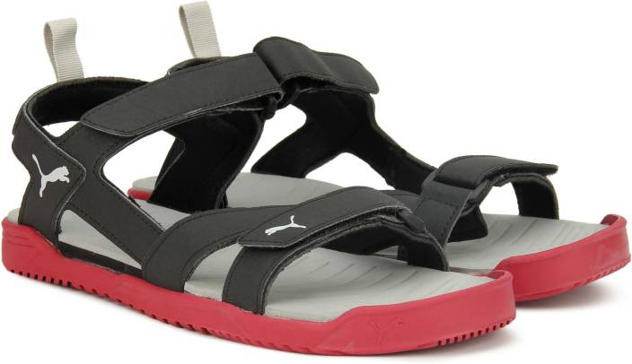 Sports Puma Women Toreador Black Silve Sandals j3cqS4AR5L