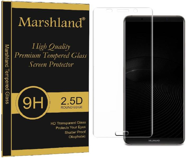 Marshland Edge To Edge Tempered Glass for Huawei Mate 10 (Pack of 1)