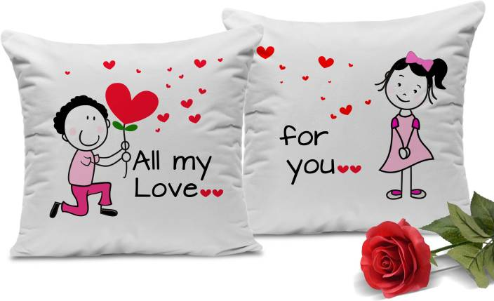 Tied Ribbons Valentines Day Love Gift For Girlfriend Husband Wife