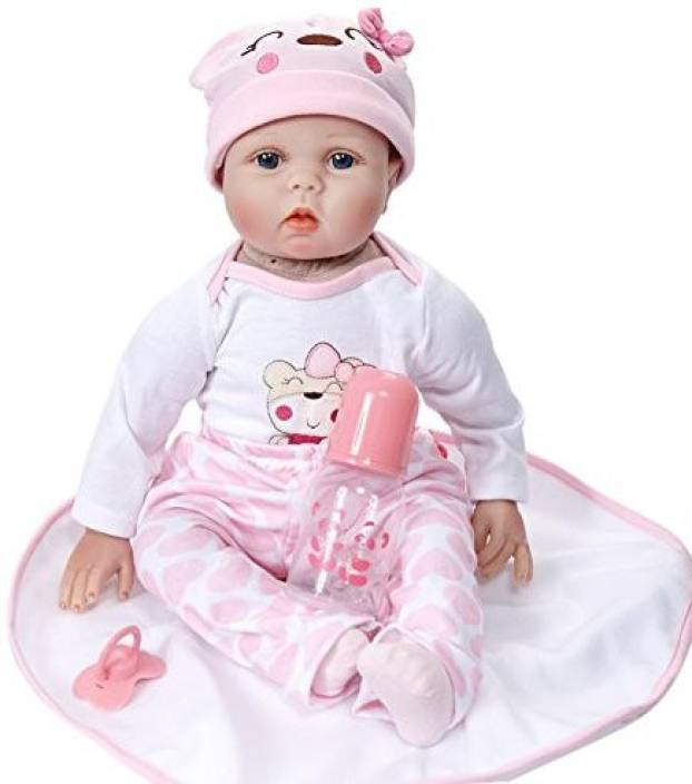 0fe289ec9 Generic Lifelike Reborn Baby Doll Simulate Silicone Accompany ...