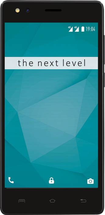 Xolo ERA 2V (Jet Black, 16 GB)
