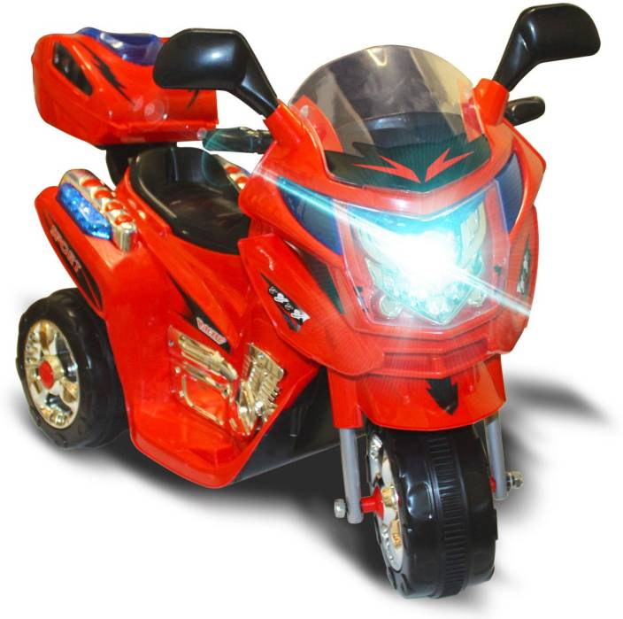 Akshat Kids Ride On Motorcycle 6v Toy Battery Powered Electric 3