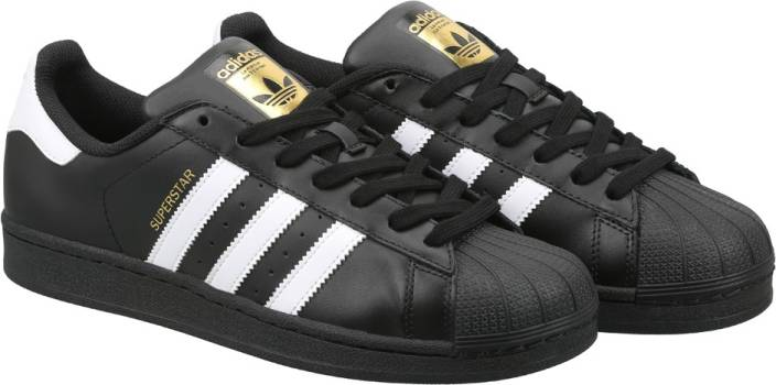 ADIDAS ORIGINALS SUPERSTAR FOUNDATION Sneakers For Men - Buy CBLACK ... 85bb02fb2