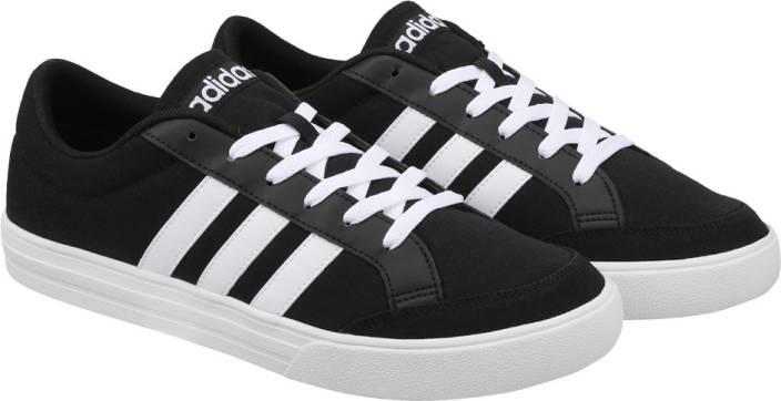 e1fd0afb3e63 ADIDAS VS SET Tennis Shoes For Men - Buy CBLACK FTWWHT FTWWHT Color ...