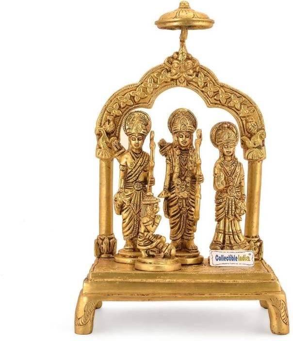 Collectible India Ram Darbar Statue God Ram Sita Laxman Hanuman