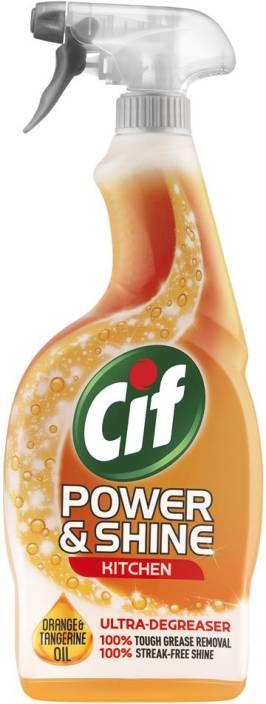 Cif Power And Shine Kitchen Cleaner Orange And Tangerine Oil Kitchen Cleaner