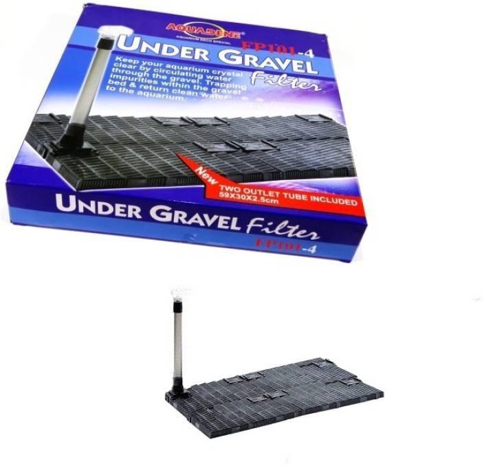 Aquadene Fp 101 4 Under Gravel Filter Two Outlet Tube
